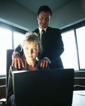 Acosada sexualmente en el trabajo