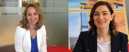 Dos directivas espa olas de dhl entran en el women50 de for Oficinas de dhl en madrid