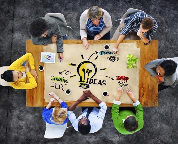 Colaboración para la obtención de ideas